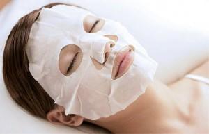 восстанавливающая маска для лица